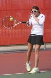 Portage No. 1 junior Mandy Haupt