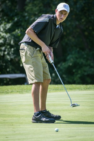 Mulligan paces H-F golfers at Mount Carmel Invitational