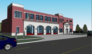 Splash pad, fire station, performance pavilion highlight downtown construction