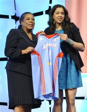 Rookie Schimmel owns WNBA's top-selling jersey
