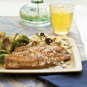 Pan-Seared Tilapia with Citrus Vinaigrette
