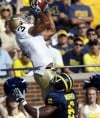 Michigan beats No. 18 Notre Dame 38-34 in thriller