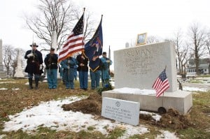 Gallery: Civil War Marker Ceremony for Col. Suman