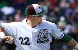 Danny Pulfer takes over at leadoff for RailCats