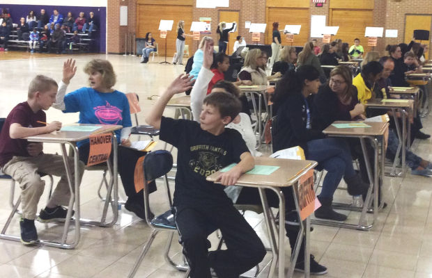 Pierce hosts 30th Annual Indiana Academic Junior Spell Bowl