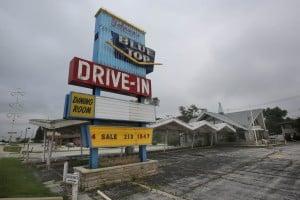Blue Top Drive-in building faces uncertain future