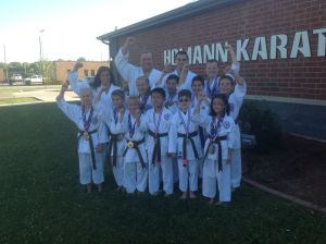 Homann Karate Do students excel at AAU Nationals