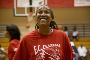 New School holds court at E.C. Central alumni game
