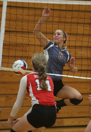 Mustangs look impressive in sweep over Chesterton