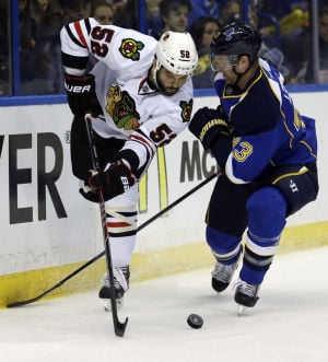 Seabrook back as Hawks aim to play final note on Blues