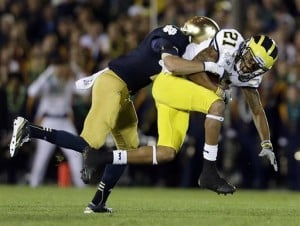 Column: Notre Dame not chicken, just greedy