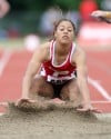 Portage's Jade McKnight, girls track