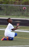 Merrillville 10-year-old JoJo Johnson already feeling draw to college football