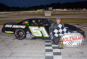 LOCAL AUTO RACING: Danta wins Molenaar Memorial at Illiana