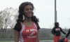Blind student-athlete soars in long jump