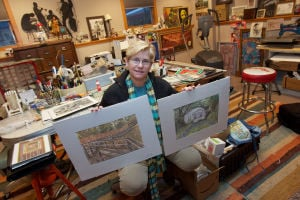 Leslie Green: Miller Beach's Native Artist