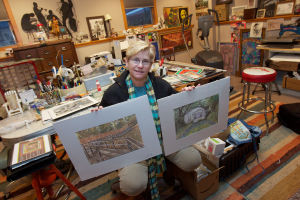Leslie Green: Miller Beach's Native Artist Returns