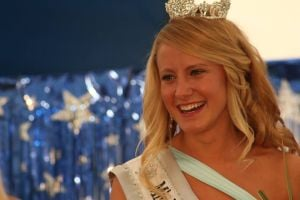 First queen presides over county fair