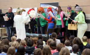 Superheroes help Valparaiso students prepare for ISTEP