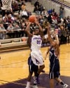 Merrillville sophmore Jaz Talley shoots