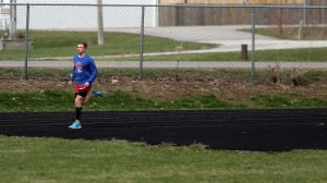 Rare medical condition forces Hebron's Blank to reinvent himself as a runner
