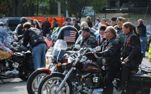 Veterans ride a real trip