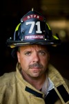 Merrillville firefighter Joe Jamrok