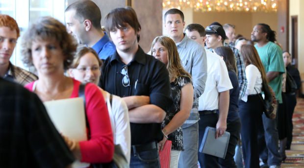 Unemployment stays steady in Indiana, falls in Illinois