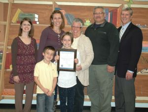 Brummitt Young Citizen honored