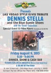 Las Vegas style Elvis tribute to feature Dennis Stella and The Blue Suede Shoes
