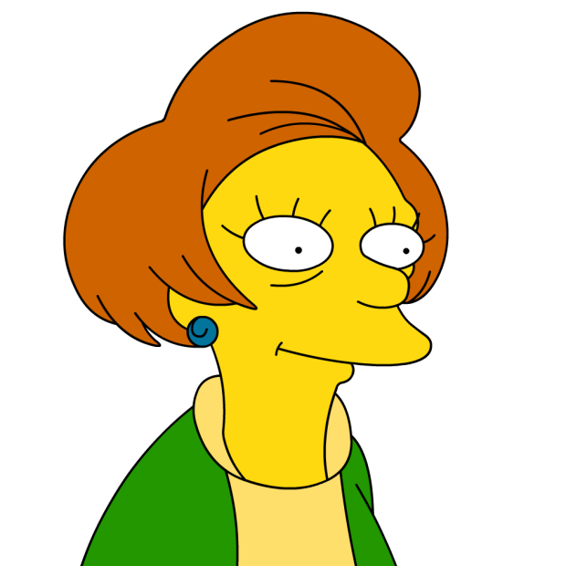 Mrs Edna Krabappel Voiced By Actress Marcia Wallace Is Bart Simpson