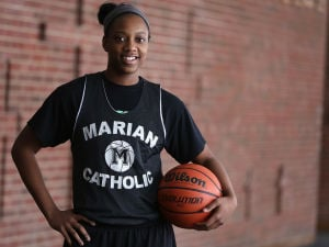 Dajhae Mullins glad to be a part of Marian's success