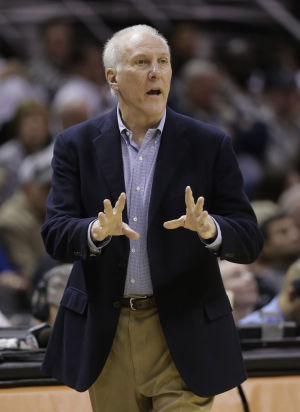 Popovich agrees to extension to stay with Spurs