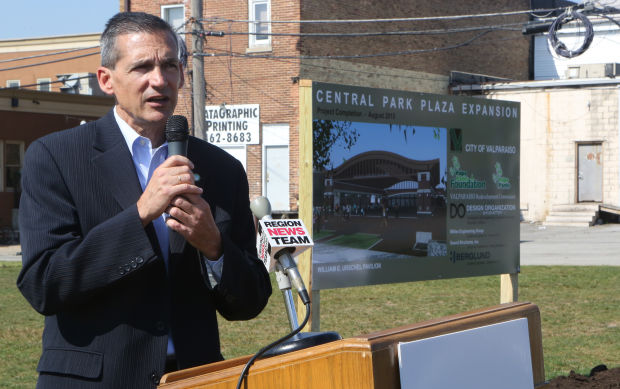 Central Park Plaza project hits ground running
