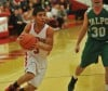 Portage's Jordan Collazo drives the lane