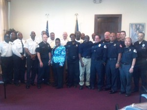 EMS staffers receive thanks from mayor