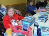 Colonial nursing residents prepare care packages for overseas troops