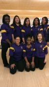 T.f. North girls bowling team