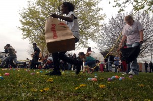 American Veterans Motorcycle Riders Association hosts Easter festivities in Hammond