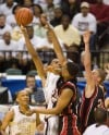 Bowman Academy's DeJuan Marrero, Park Tudor's Trevon Bluiett, Troy Spears