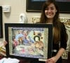 CHS Art student receives scholarship