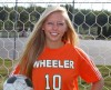 Wheeler girls soccer player Shannon Eden