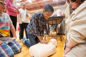 C.P. students explore career options