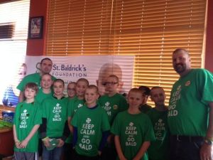 Indiana Elite makes it a team effort at St. Baldrick's event