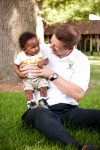 VU basketball coach savoring first Father's Day with his long-awaited son