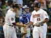 Lee homers twice as Astros down Cubs