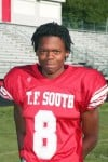 T.F. South football player Jalen Woods