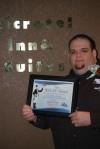 Patrick Wright receives R.O.S.E. Award