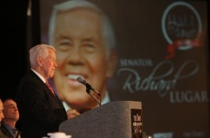 Lugar honored for lifetime of service
