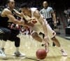 Evans comes up big to help Wisconsin nip Vandy